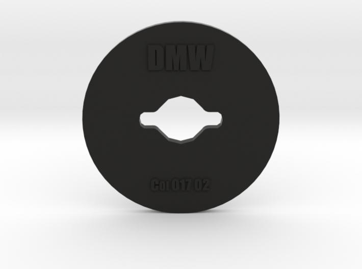Clay Extruder Die: Coil 017 02 3d printed