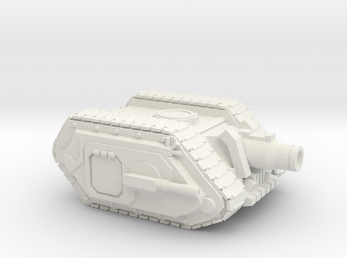 Super Soldier Siege Cannon 3d printed