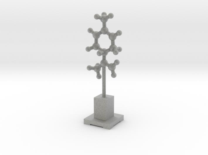 Molecule Statuette 3d printed