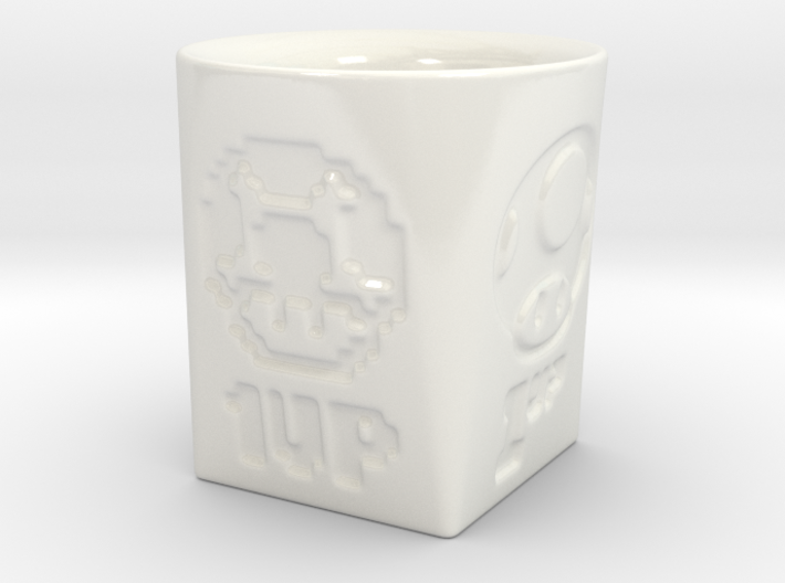 Coffe Cup - Motive Test 3d printed