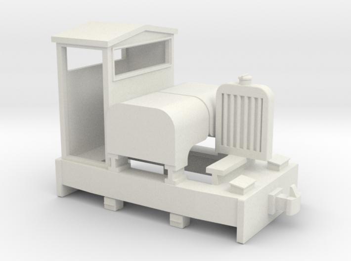55n9 Simplex diesel loco 3d printed