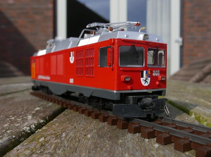 Rhb 801 Refit Cab 3d printed The finished model.
