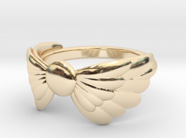 Arcángel Ring US Size 5 UK J½ 3d printed
