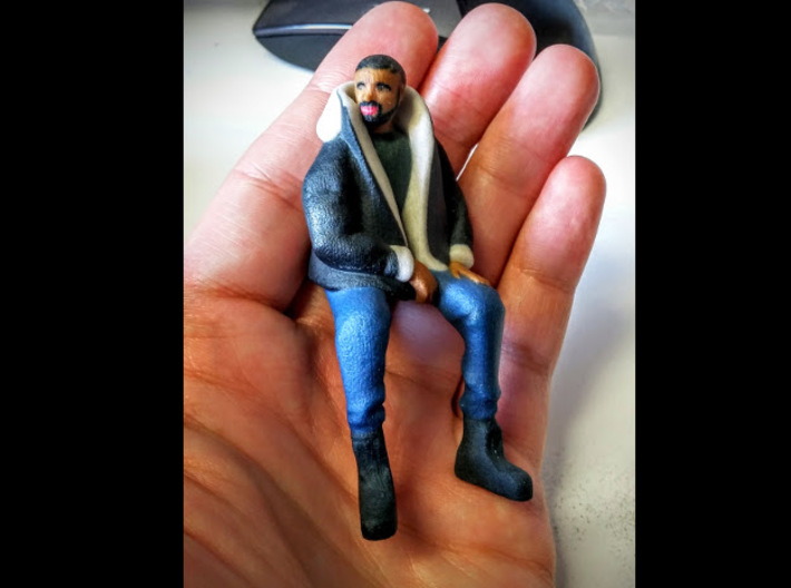 Drake | Tiny Views 3d printed Tiny enough for your regular-sized hands