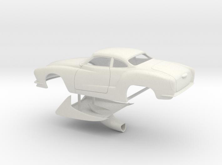 1/12 Legal Pro Mod Karmann Ghia 3d printed