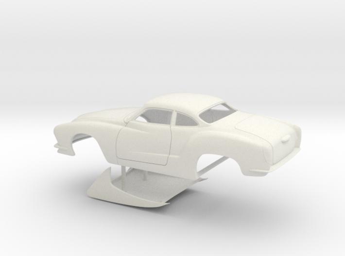 1 8 Legal Pro Mod Karmann Ghia No Scoop 3d printed
