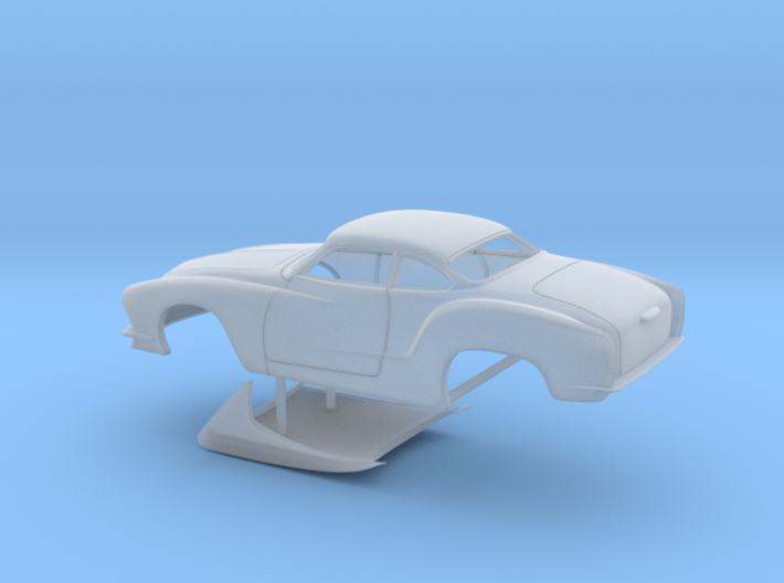 1/64 Legal Pro Mod Karmann Ghia No Scoop 3d printed