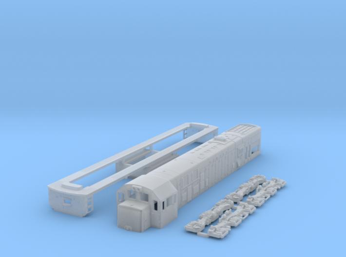 1:150 Scale U20c 3d printed
