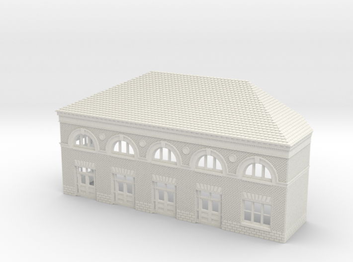 WILMINGTON STATION SOUTH A ROOF 3d printed