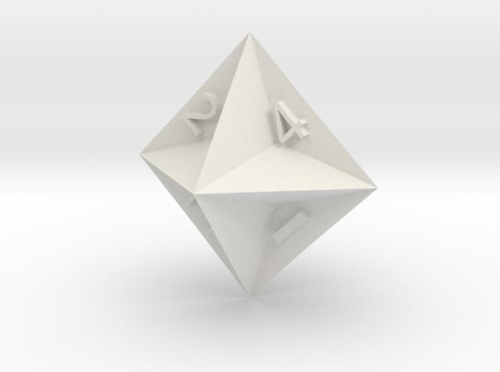 d4 Semiconvex Octohedron 3d printed