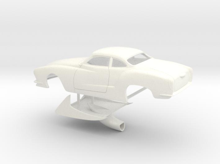 1/25 Legal Pro Mod Karmann Ghia Small WW 3d printed