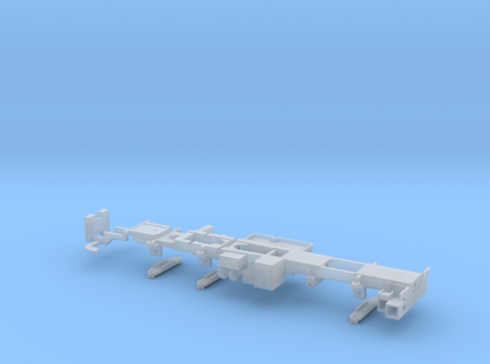 P 150-6 Fahrgestell Man 8x2 für Ladekran 150mt 3d printed