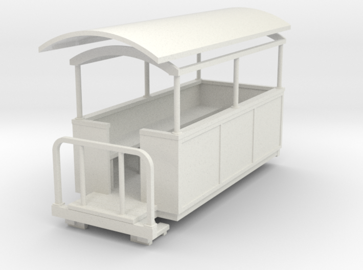 55n9 Semi-open coach 3d printed