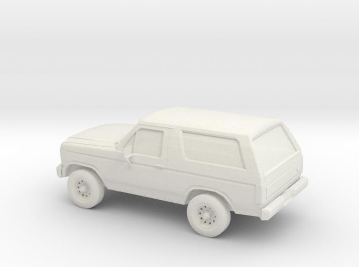 1/100 1984 Ford Bronco 3d printed