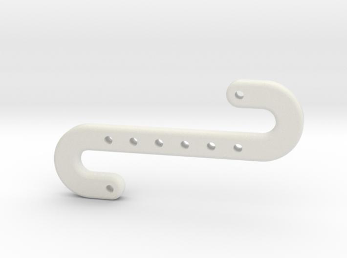 Snake Hook 3d printed