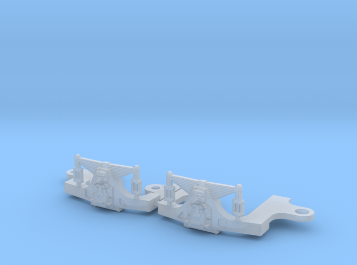 Hodges N scale trailing truck 3d printed