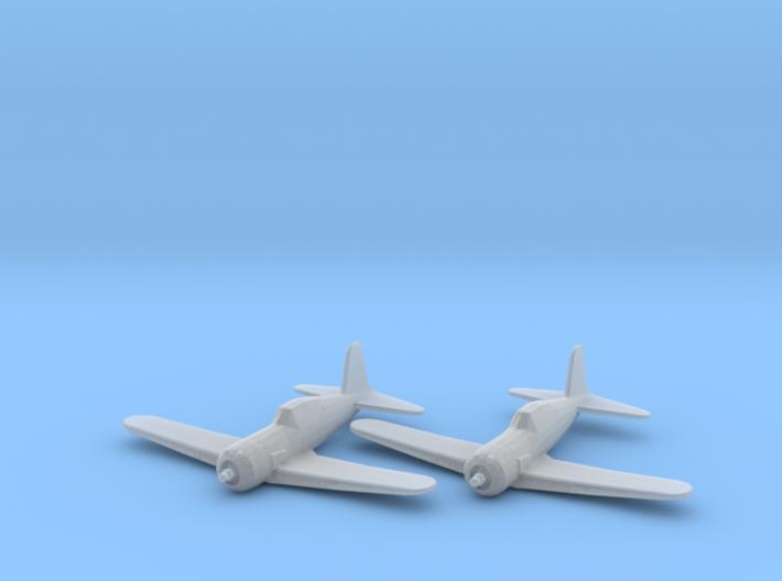 Vultee P-66 'Vanguard' 1:200 x2 FUD 3d printed