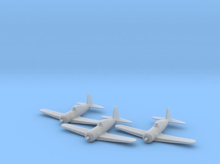 Vultee P-66 'Vanguard' 1:200 x3 FUD 3d printed