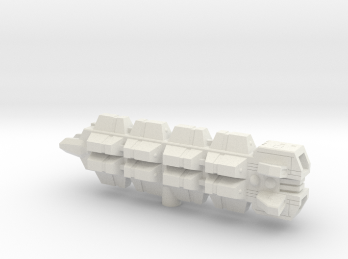Rochen Transport 1/5000 3d printed