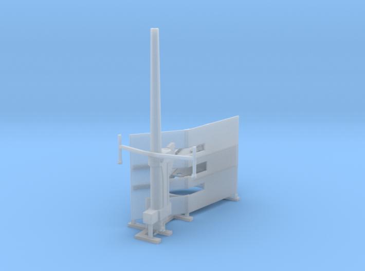 RN WW2 12pdr Gun Kit 3d printed