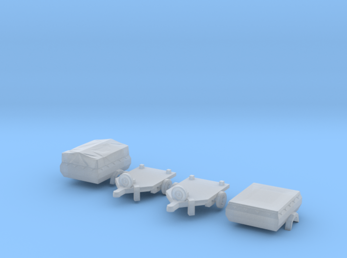SET 2x HP 350.01 (TT 1:120) 3d printed