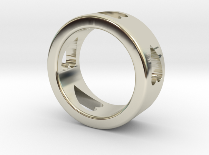 LOVE RING size-6 3d printed