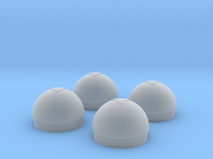 1/48 Torpedo Warhead Inserts for PT Boats 3d printed