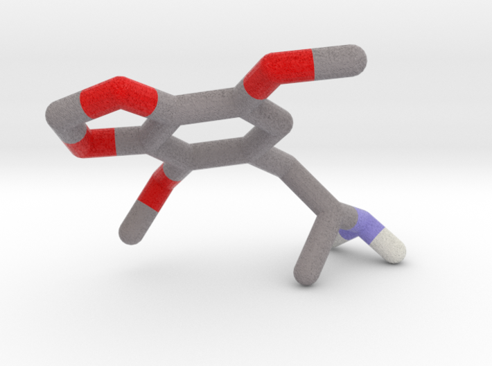 DMMDA (2,5-dimethoxy-3,4-methylenedioxy-amphetamin 3d printed