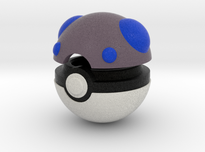 Pokeball (Heavy) 3d printed