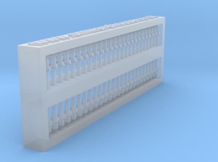 Door handle 1:87 ( H0) scale , 50 pcs set 3d printed
