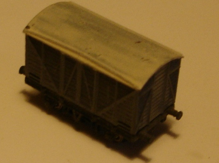 GWR - Mink A - Covered goods wagon Z 1:220 3d printed