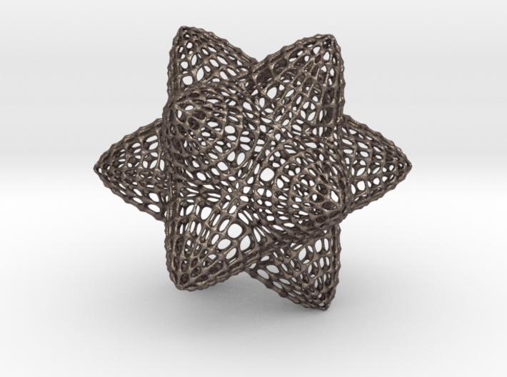 PollenStarLattice 3d printed