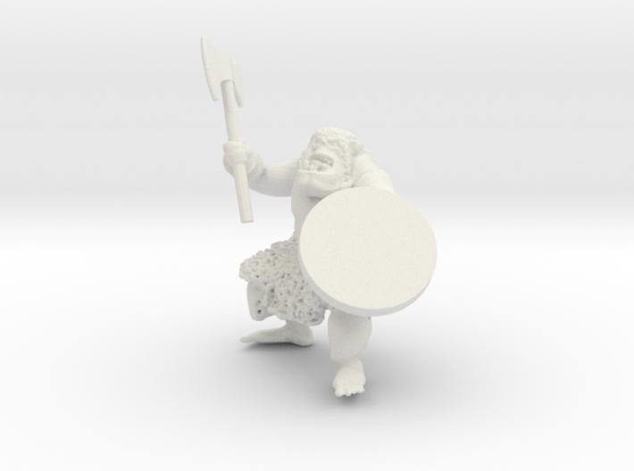 Orc warrior assembled 3d printed