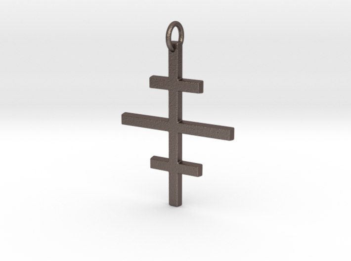 Salem Cross/Ever-Lasting Contrast 3d printed