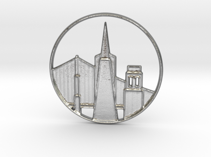 San Francisco Pendant 3d printed San Francisco Pendant 