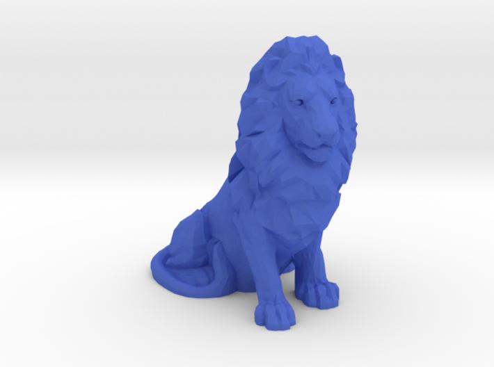 Olympique Lyonnais Lion Statue 3d printed