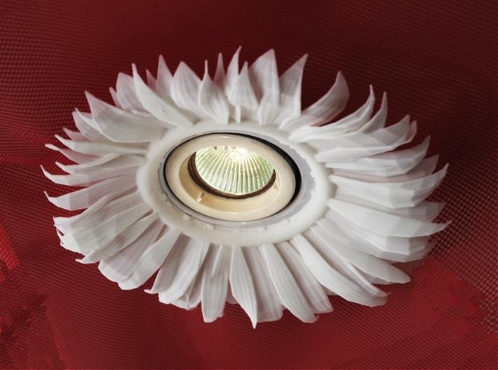 Light Fitting With Sunflower 3d printed Sunflower Light Fitting
