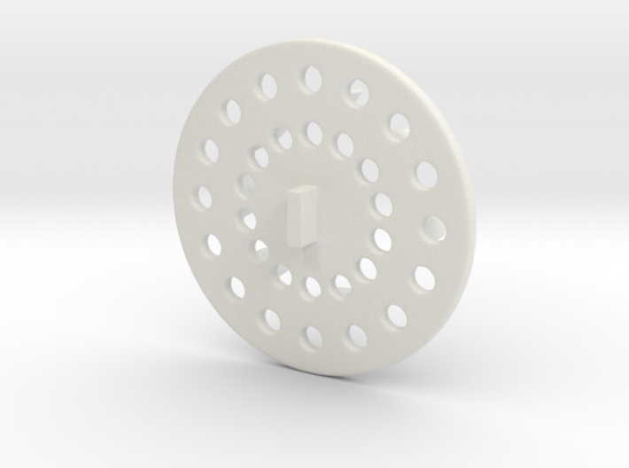 Super cute cupcake herb grinder - Part 2 3d printed