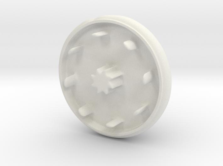 Super cute cupcake herb grinder - Part 1 3d printed