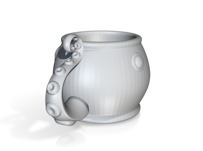 Octopus Cup 3d printed