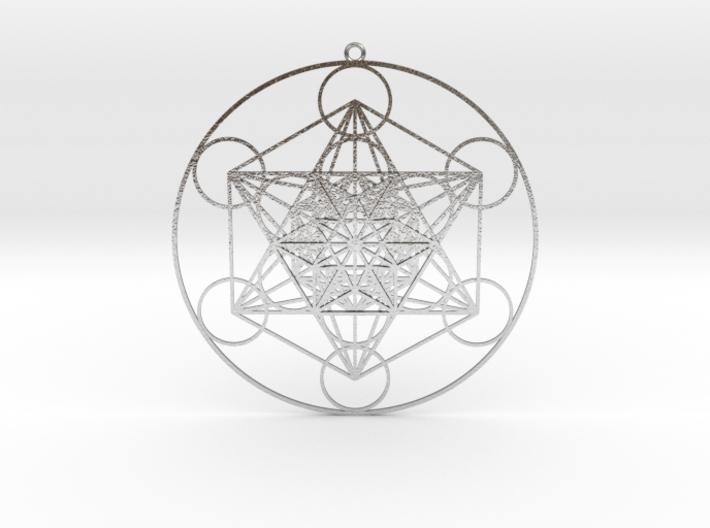 "Super Metatron's Cube 3.3"" 3d printed"