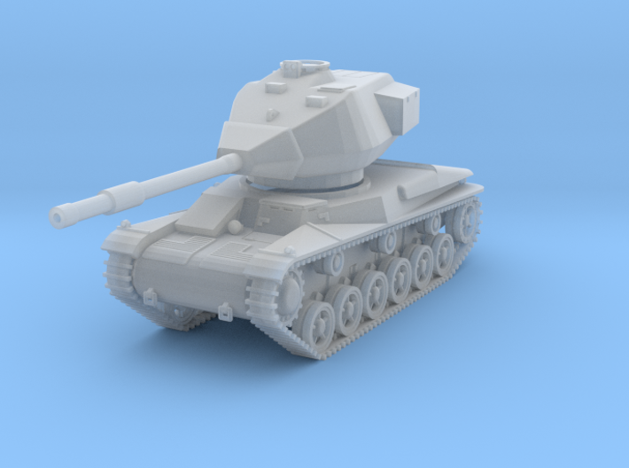 MV13C Stridsvagn 74 (1/87) 3d printed