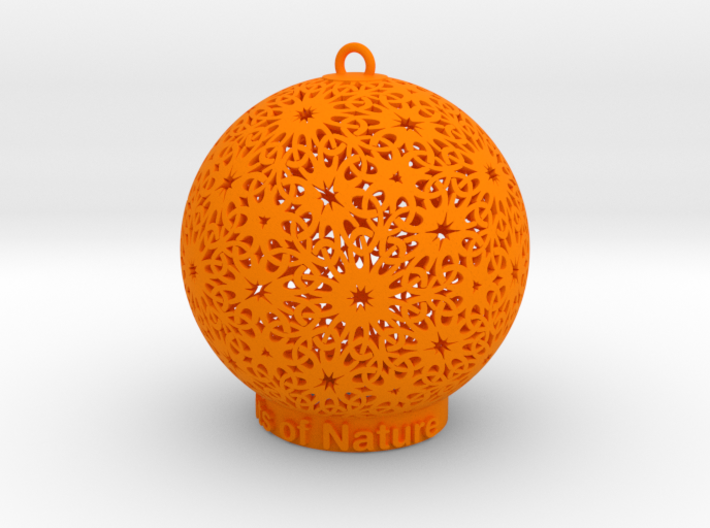 Knots Of Nature Ornament for lighting 3d printed Knots of Nature Ornament (different materials have different prices)