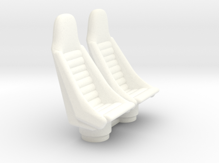 1/18 COCKPIT PILOT SEATS 3d printed