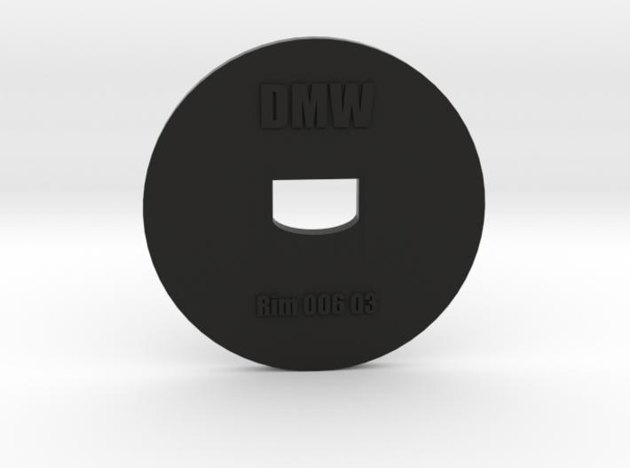 Clay Extruder Die: Rim 006 03 3d printed