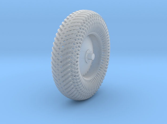 08A2-Front-Left Meshed Wheel 3d printed