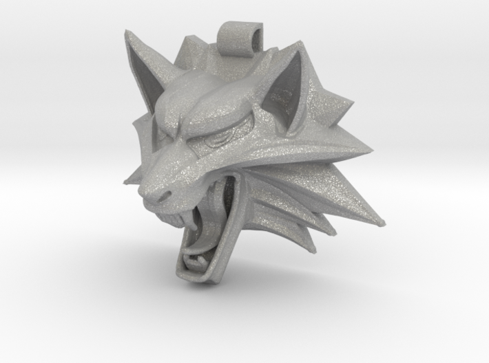 The Witcher's Medallion 3d printed