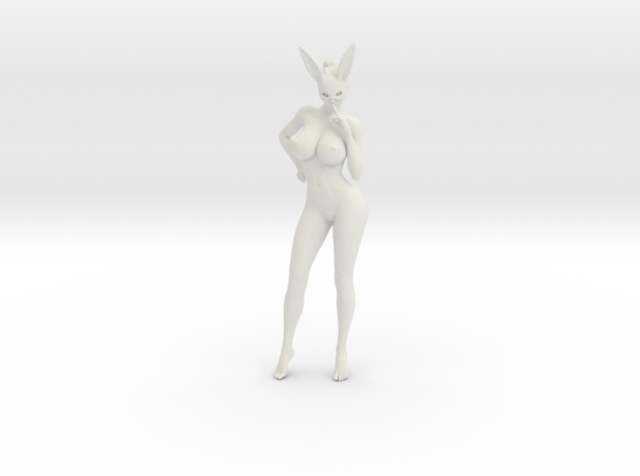 Bunny lady 003 1/10 3d printed