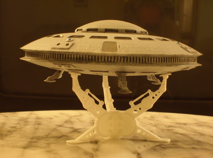 New Mexico UFO (5 inch dia.) (AKA Phonex Saucer) 3d printed New Mexico Sighting