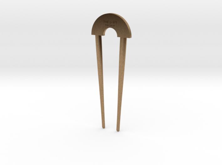 Hairpin - The Loft Hair Salon (shorter) 3d printed